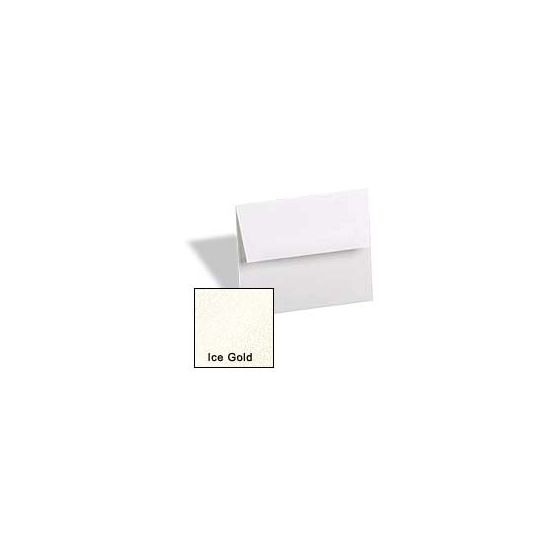 [Clearance] Curious Metallic ENVELOPES - A6 Envelopes - ICE GOLD - 50 PK