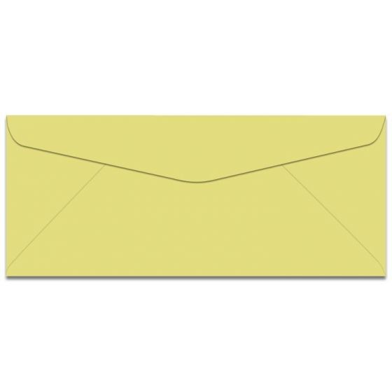 Domtar Colors - Earthchoice No. 10 Envelopes - CANARY - 2500/carton [DFS-48]
