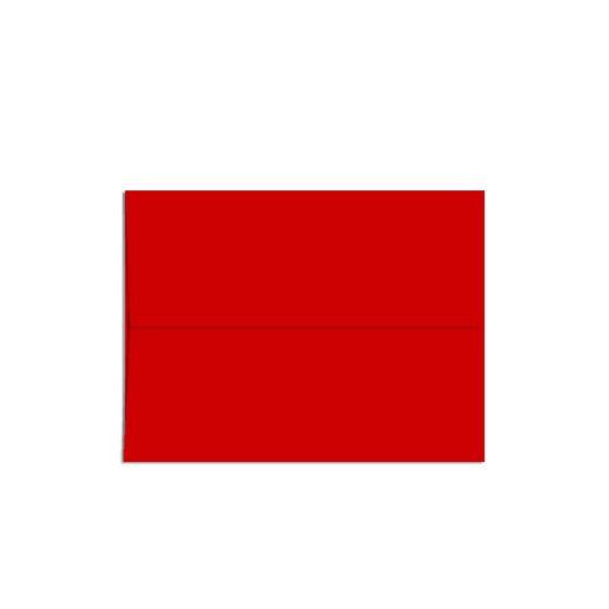 POPTONE Red Hot - A1 Envelopes (3.625-x-5.125) - 250 PK