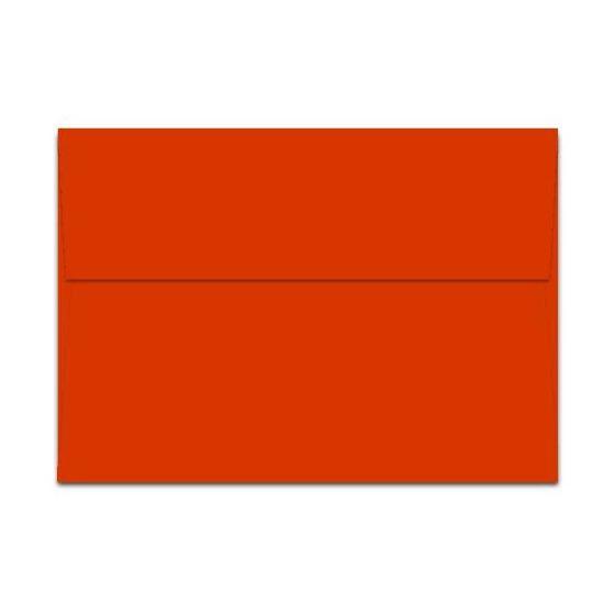 POPTONE Tangy Orange - A7 Envelopes (5.25-x-7.25) - 50 PK [DFS]