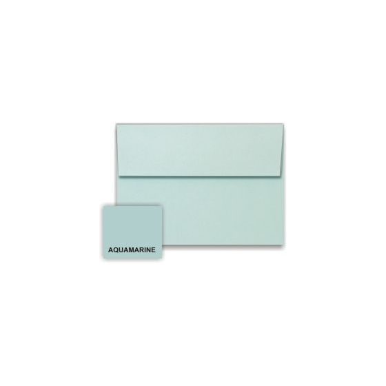 [Clearance] Stardream Metallic - A1 Envelopes (3.625-x-5.125) - AQUAMARINE - 250 PK