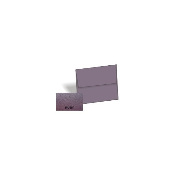 [Clearance] Stardream Metallic - A1 Envelopes (3.625-x-5.125) - RUBY - 25 PK