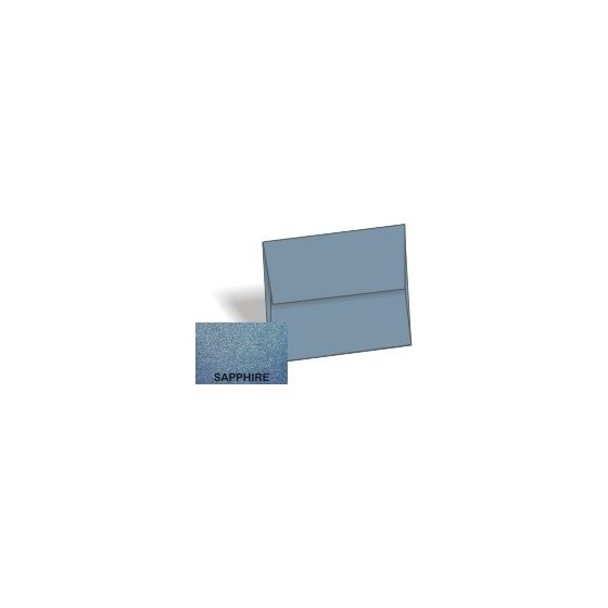 [Clearance] Stardream Metallic - A6 Envelopes (4.75-x-6.5) - SAPPHIRE - 250 PK