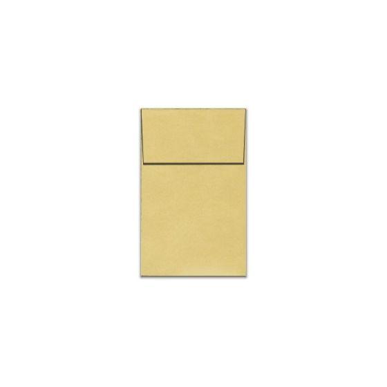 Stardream Metallic Envelopes - A10 VERTICAL ENVELOPES (Open-End) - GOLD - 250 PK [DFS-48]