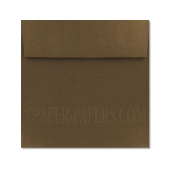 Stardream Metallic - 8 in (8x8) Square BRONZE ENVELOPES - 1000 PK [DFS-48]