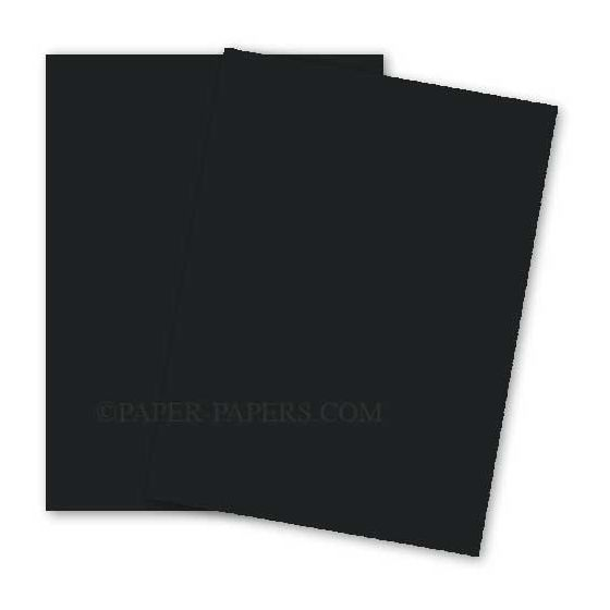 BASIS COLORS - 8.5 x 11 PAPER - Black - 28/70 TEXT - 200 PK [DFS-48]