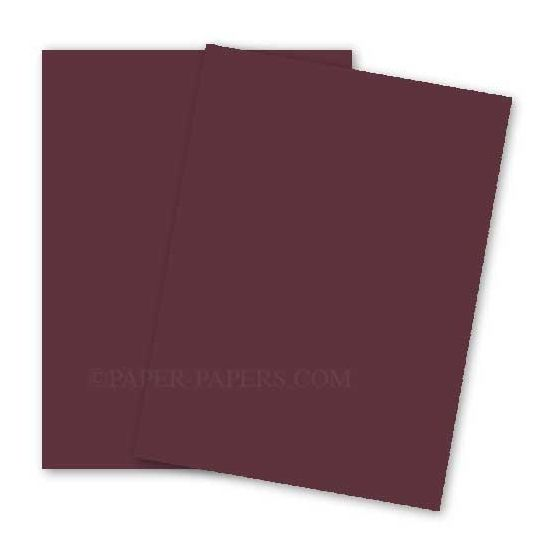 BASIS COLORS - 8.5 x 11 PAPER - Burgundy - 28/70 TEXT - 200 PK [DFS-48]