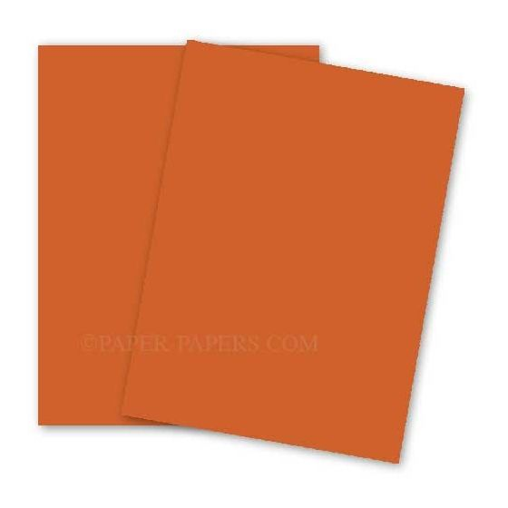 BASIS COLORS - 23 x 35 PAPER - Dark Orange - 28/70LB TEXT