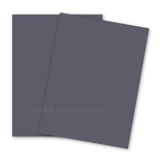 BASIS COLORS - 11 x 17 CARDSTOCK PAPER - Grey - 80LB COVER - 100 PK [DFS-48]