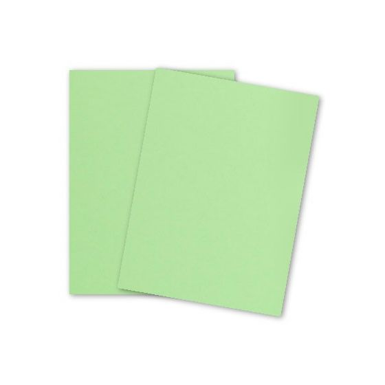 BASIS COLORS - 26 x 40 CARDSTOCK PAPER - Light Lime - 80LB COVER