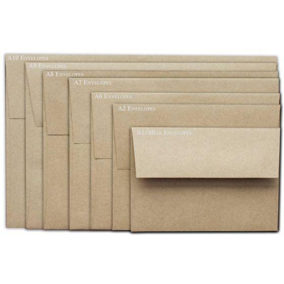 Brown Bag Envelopes - KRAFT - A10 Envelopes - 50 PK
