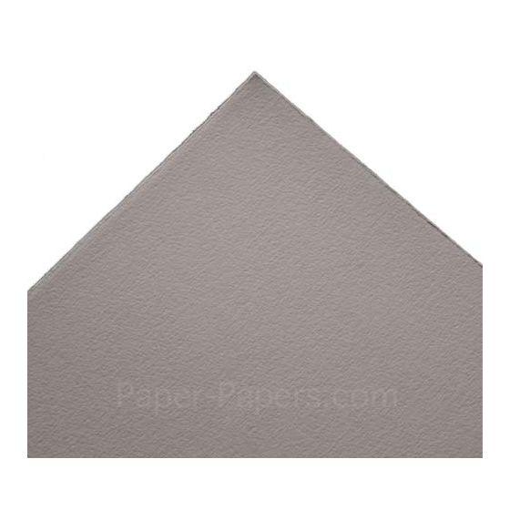 Arturo - Xtra Small Flat CARDS (260GSM) - STONE GREY - (2.5 x 3.75) - 100 PK