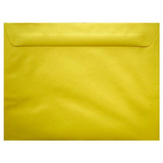 [Clearance] Mohawk BriteHue - SUN YELLOW - 9X12 Booklet Envelopes - 25 PK