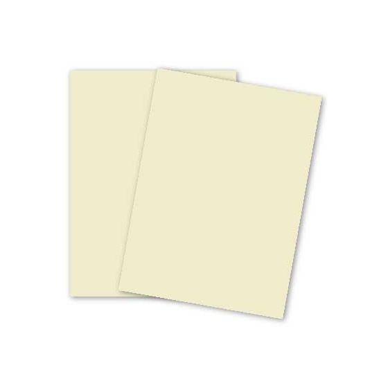 Basic CREAM Card Stock Paper - 8.5 x 11 - 100lb Cover (270gsm) - 100 PK