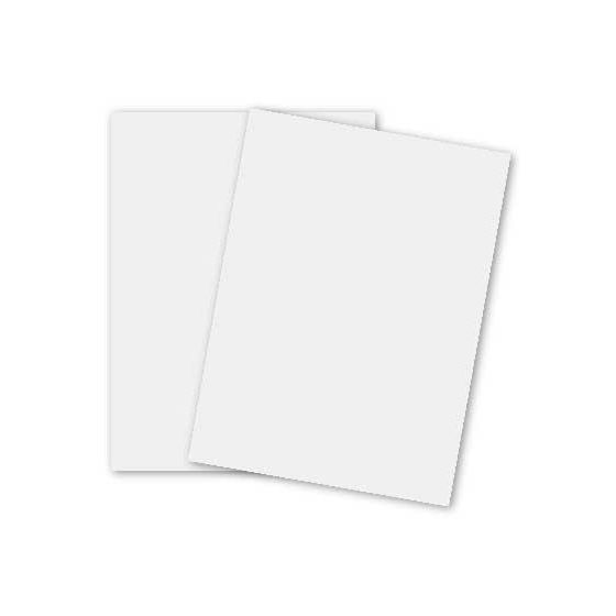 Basic WHITE (Standard) Card Stock Paper - 8.5 x 11 - 80lb Cover (216gsm) - 200 PK