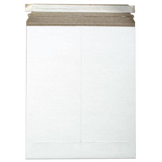 Cardboard Envelopes - WHITE Paperboard Mailers (11-x-13.5) - 10 PK