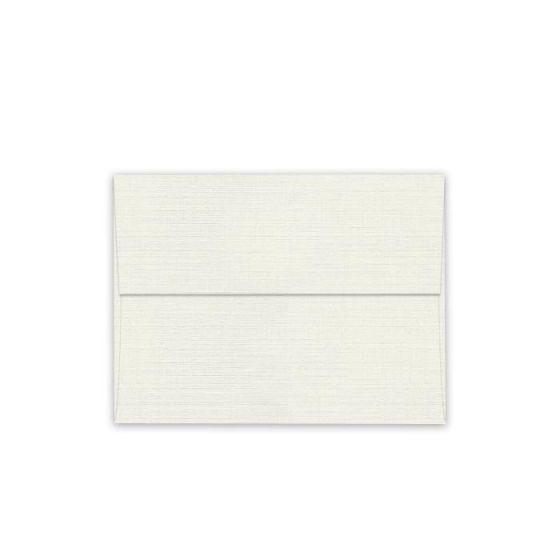 Classic LINEN Natural White (80T/Linen) - A1 Envelopes (3.625-x-5.125) - 250 PK [DFS-48]