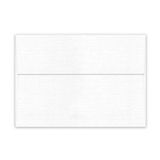 Classic LINEN Solar White (80T/Linen) - A7 Envelopes (5.25-x-7.25) - 50 PK [DFS]