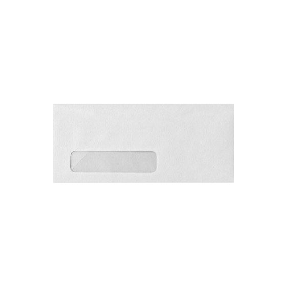 Neenah Classic CREST Solar White (24W/Stipple) - No. 10 Poly Window Envelopes (4.125-x-9.5) - 2500 PK