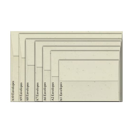 Neenah Environment TORTILLA (80T/Smooth) - A8 Envelopes (5.5 x 8.125) - 1000 PK