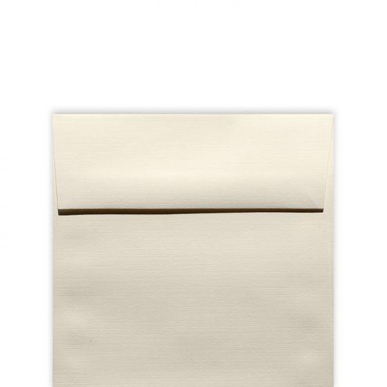 Classic Linen Natural White - 5.5 in (5.5X5.5) Square Envelopes (80T/Linen) - 25 PK [DFS]