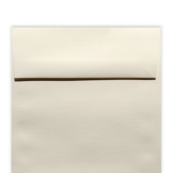 Classic Linen Natural White - 6.5 in (6.5X6.5) Square Envelopes (80T/Linen) - 1000 PK [DFS-48]