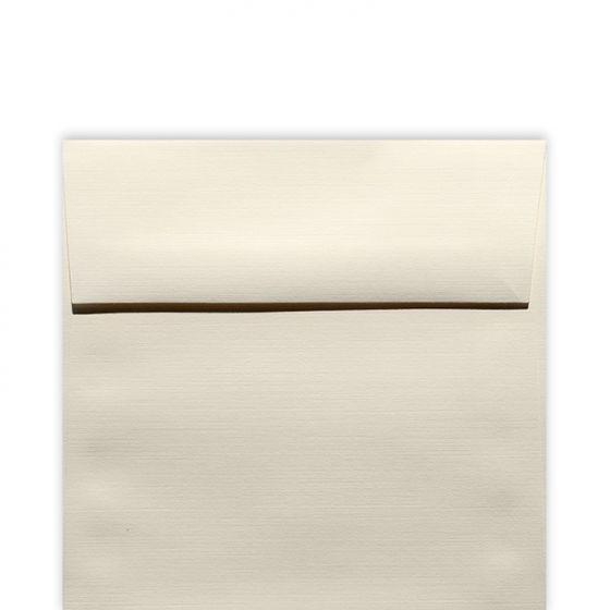 Classic Linen Natural White - 6 in (6X6) Square Envelopes (80T/Linen) - 250 PK [DFS-48]