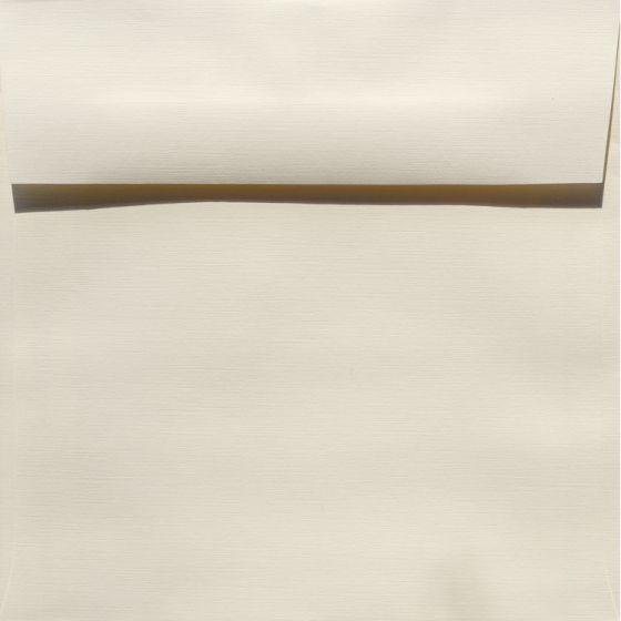 Classic Linen Natural White - 7.5 in (7.5X7.5) Square Envelopes (80T/Linen) - 1000 PK