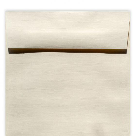 Classic Linen Natural White - 7 in (7X7) Square Envelopes (80T/Linen) - 1000 PK [DFS-48]