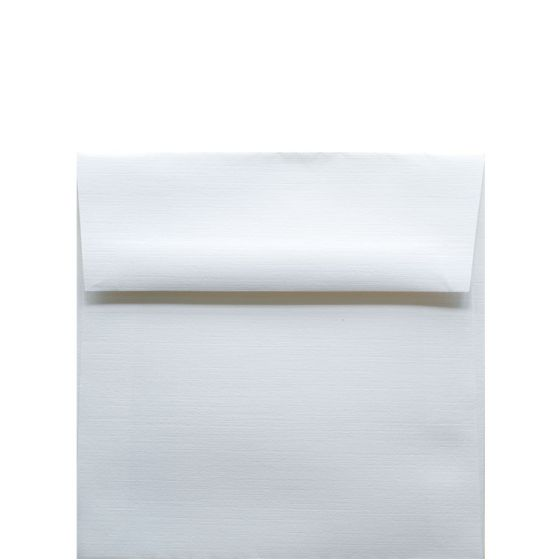 Classic Linen Solar White - 5.5 in (5.5X5.5) Square Envelopes (80T/Linen) - 1000 PK [DFS-48]