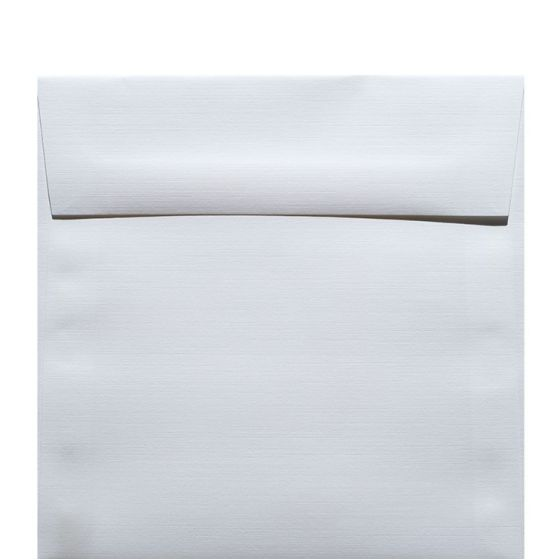Classic Linen Solar White - 6.5 in (6.5X6.5) Square Envelopes (80T/Linen) - 25 PK