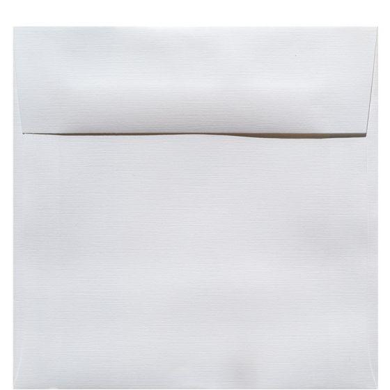 Classic Linen Solar White - 7 in (7X7) Square Envelopes (80T/Linen) - 1000 PK [DFS-48]