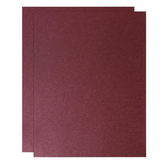 FAV Shimmer Garnet Plum - 8.5 x 14 Legal Size Card Stock Paper - 107lb Cover (290gsm) - 150 PK [DFS-48]