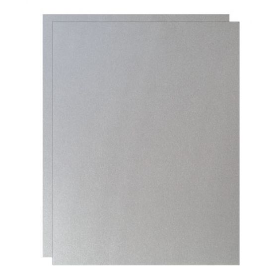FAV Shimmer Pure Silver - 8.5 x 11 Paper - 81lb Text (120gsm) - 1000 PK