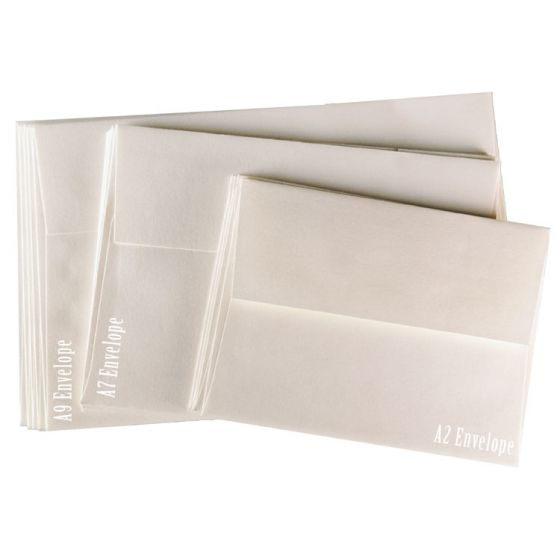 FAV Shimmer HINTED GOLD - A9 ENVELOPES (5.75-x-8.75) - 50 PK [DFS]
