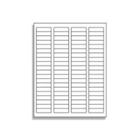80 UP Return Address Labels - 5267 Compatible - 80 Labels per Sheet / 1000 Sheets