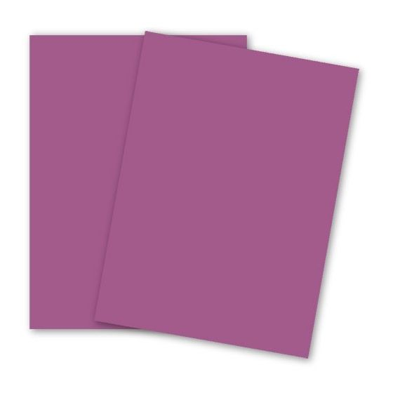 BASIS COLORS - 11 x 17 CARDSTOCK PAPER - Dark Magenta - 80LB COVER - 100 PK [DFS-48]