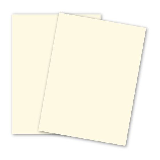 BASIS COLORS - 23 x 35 PAPER - Ivory - 28/70LB TEXT