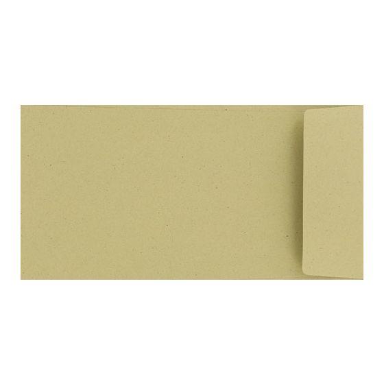 Crush Olive - 4.33X8.66 (11X22cm) DL Envelopes (81T/Peel-Stick Flap) - 25 PK