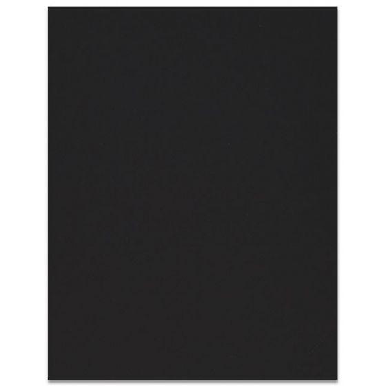 Curious SKIN - Black - 8.5 x 11 Card Stock Paper - 100lb Cover - 25 PK [DFS]