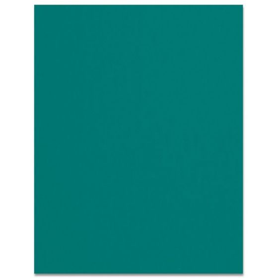 Curious SKIN - Emerald - 8.5 x 11 Card Stock Paper - 100lb Cover - 25 PK [DFS]