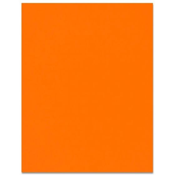 Curious SKIN - Orange - 12X18 Card Stock Paper - 100lb Cover (270gsm) - 100 PK