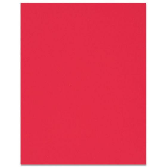 Curious SKIN - Red - 12X18 Card Stock Paper - 100lb Cover (270gsm) - 100 PK