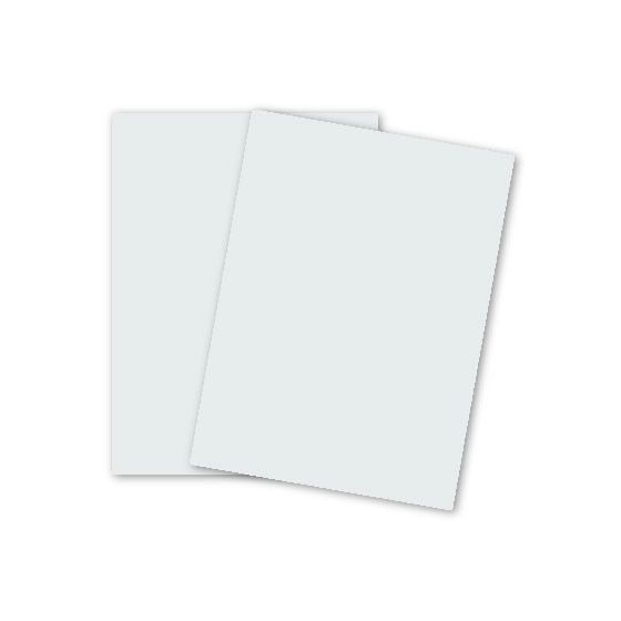 Domtar Colors - Earthchoice BRITEWHITE VB Cover - 8.5 x 11 Cardstock Paper - 67lb VB Cover - 2000 PK