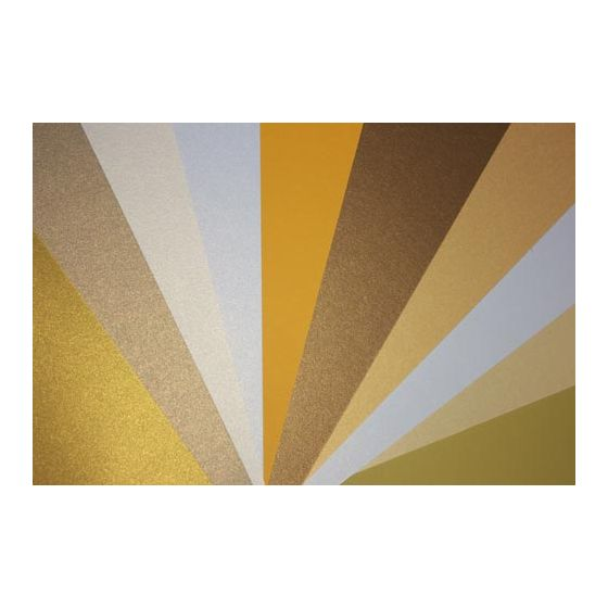FAVORITE PAPERS - Gold - 8.5 x 11 Cardstock --MULTI-PACK--
