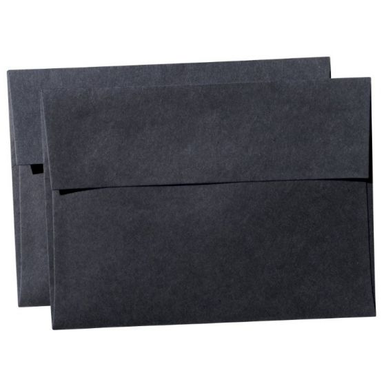 REMAKE Black Midnight (121T) - A7 Envelopes (5.25-x-7.25) - 600 PK [DFS-48]