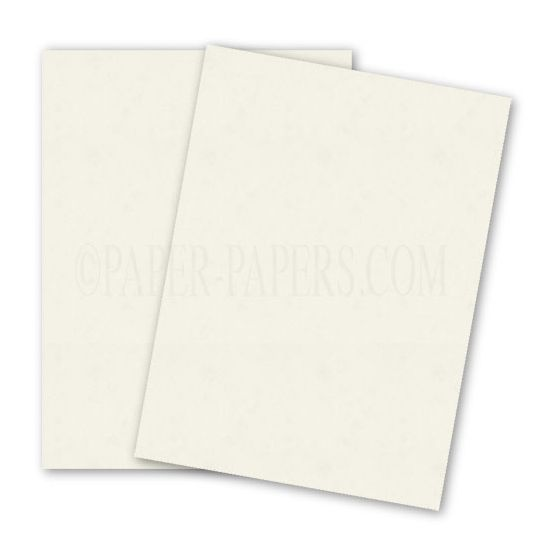 DUROTONE Butcher OFF-WHITE - 8.5X11 Card Stock Paper - 100lb Cover - 250 PK