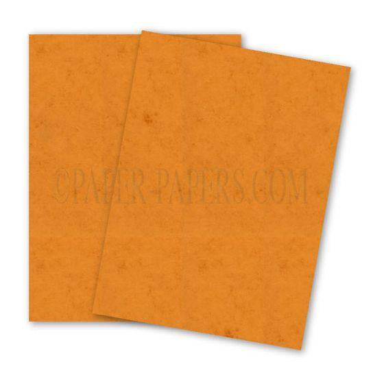 DUROTONE Butcher ORANGE - 8.5X11 Card Stock Paper - 80lb Cover - 250 PK