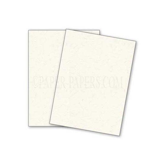 DUROTONE Newsprint EXTRA WHITE - 8.5X11 Card Stock Paper - 80lb Cover - 250 PK [DFS-48]