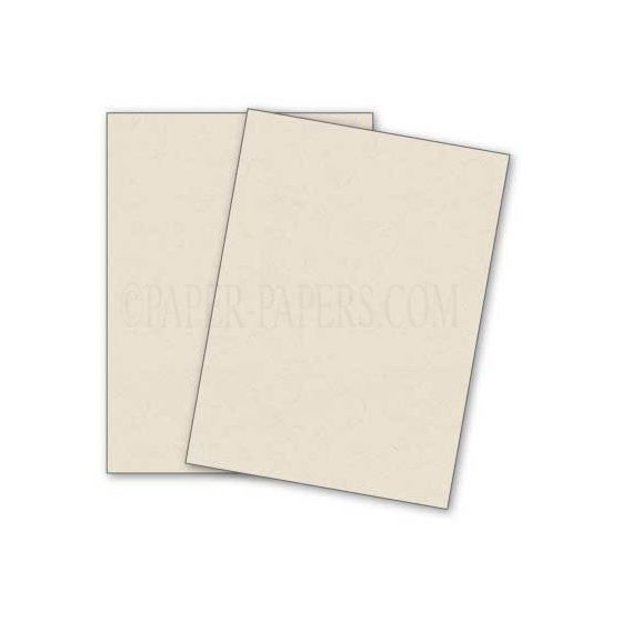 DUROTONE Newsprint WHITE - 12X18 Card Stock Paper - 80lb Cover - 100 PK [DFS-48]
